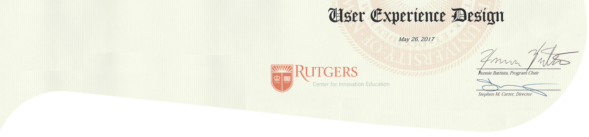 Rutgers UX - Pathways